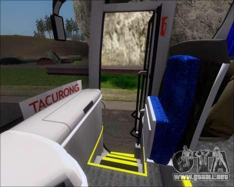 MAN Lion Coach Rural Tours 2790 para las ruedas de GTA San Andreas