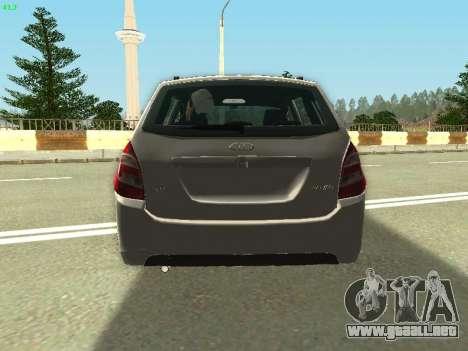 Lada Kalina 2 Wagon para visión interna GTA San Andreas