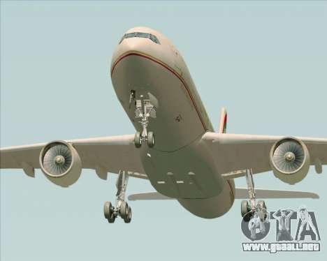 Airbus A330-300 Etihad Airways para el motor de GTA San Andreas