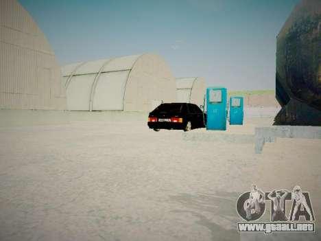 VAZ 2114 para vista lateral GTA San Andreas