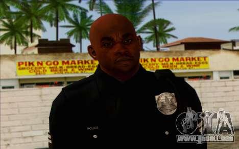 La policía (GTA 5) de la Piel 3 para GTA San Andreas tercera pantalla
