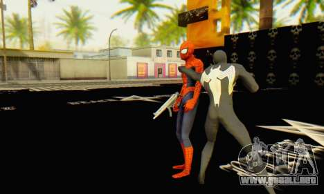 Skin The Amazing Spider Man 2 - Molecula Estable para GTA San Andreas sucesivamente de pantalla