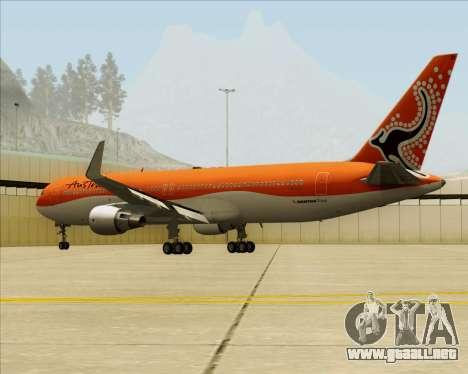 Boeing 767-300ER Australian Airlines para visión interna GTA San Andreas
