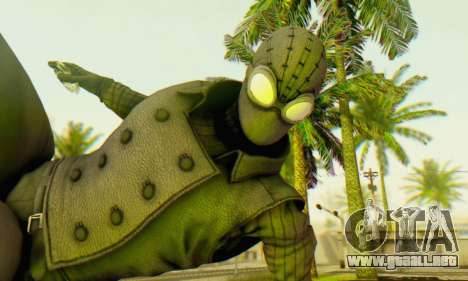 Skin The Amazing Spider Man 2 - DLC Noir para GTA San Andreas tercera pantalla
