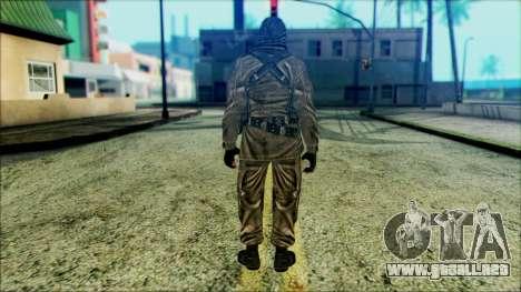 Los soldados aerotransportados (CoD: MW2) v6 para GTA San Andreas segunda pantalla