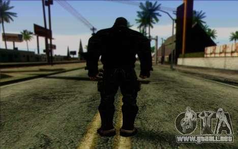 Bane from Batman: Arkham Origins para GTA San Andreas segunda pantalla