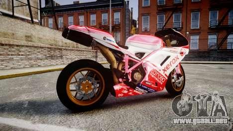 Ducati 1198 R para GTA 4 left