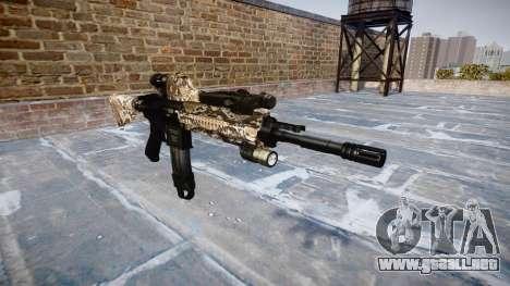 Automatic rifle Colt M4A1 viper para GTA 4