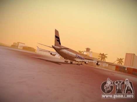 Airbus A340-300 Finnair para la visión correcta GTA San Andreas
