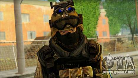 Mercenario (SC: Blacklist) v3 para GTA San Andreas tercera pantalla