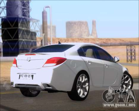Opel Insignia OPC para la visión correcta GTA San Andreas