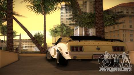 Ford Mustang 492 para GTA Vice City left