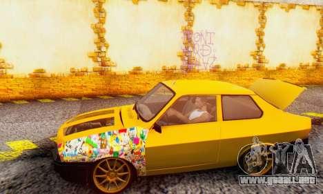 Dacia 1310 Sport Tuning v2 para GTA San Andreas vista posterior izquierda