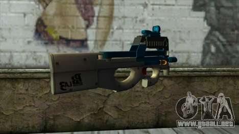P90 from PointBlank v5 para GTA San Andreas segunda pantalla