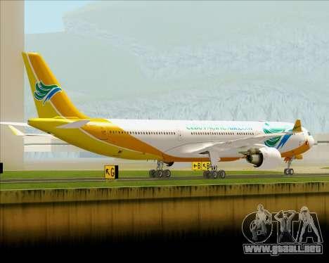 Airbus A330-300 Cebu Pacific Air para la visión correcta GTA San Andreas
