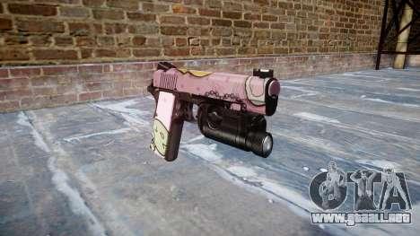 Pistola De Kimber 1911 Kawaii para GTA 4