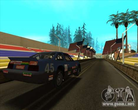 Sky Road Merdeka para GTA San Andreas tercera pantalla