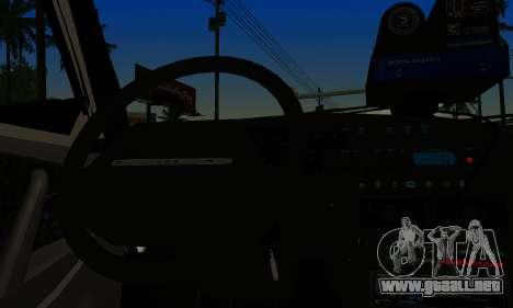 VAZ 2114 DPS para GTA San Andreas vista posterior izquierda