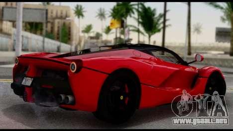 Ferrari LaFerrari 2014 (IVF) para GTA San Andreas left