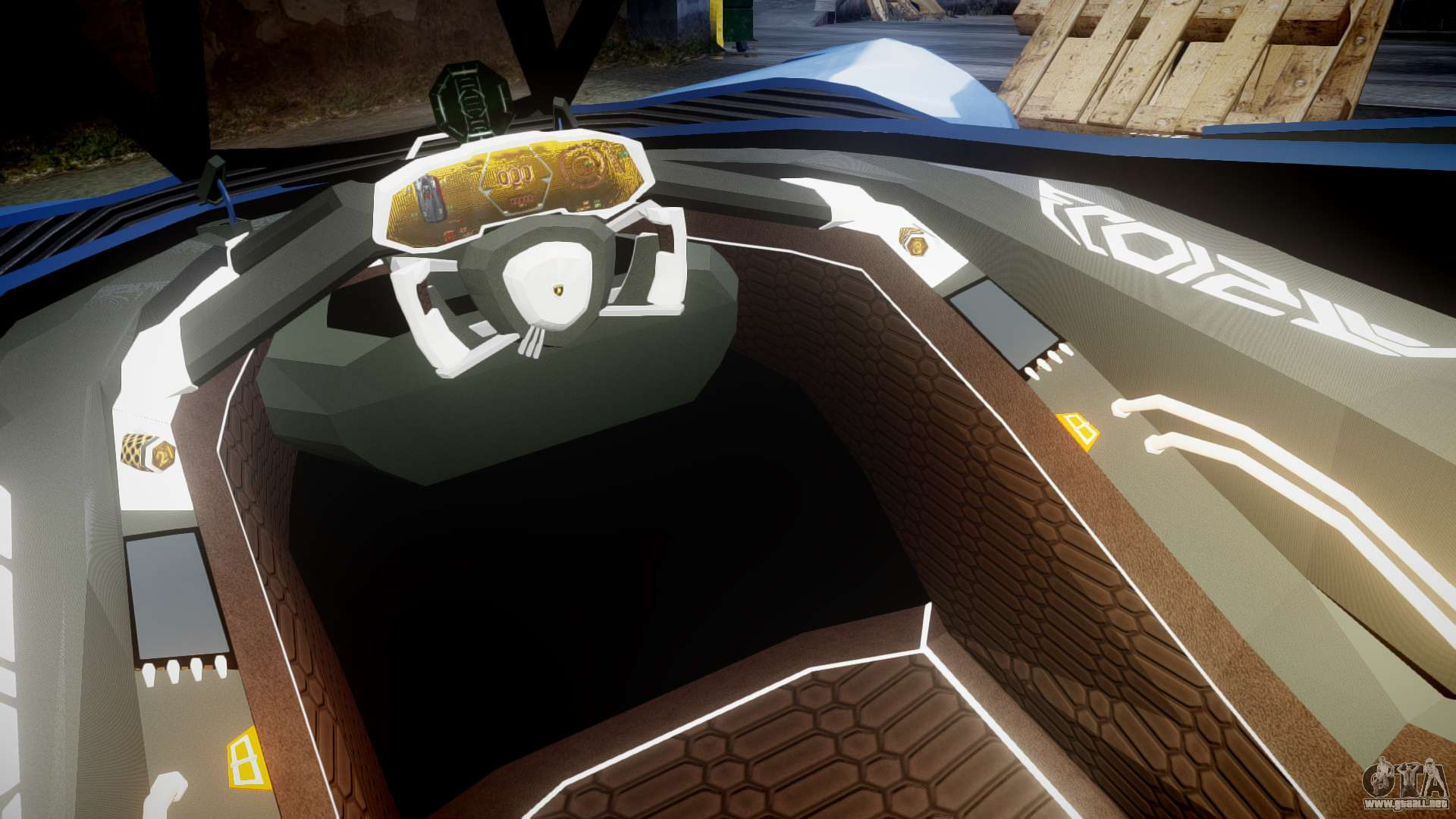 Image Gallery Lamborghini Egoista Interior