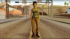 Tomb Raider Skin 11 2013 para GTA San Andreas