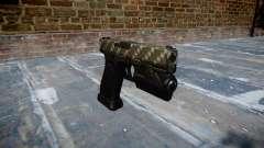 Pistola Glock 20 de fibra de carbono