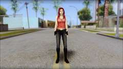 Claire Aflterlife Skin para GTA San Andreas