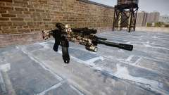 Automatic rifle Colt M4A1 zombies para GTA 4