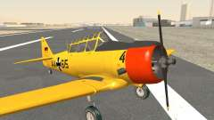 North American T-6 TEXAN AA615 para GTA San Andreas