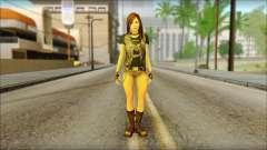 Bike Girl para GTA San Andreas