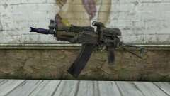 AK74U from Battlefield 2 para GTA San Andreas
