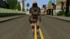 Task Force 141 (CoD: MW 2) Skin 15 para GTA San Andreas