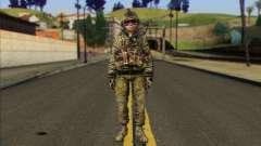 Task Force 141 (CoD: MW 2) Skin 11 para GTA San Andreas