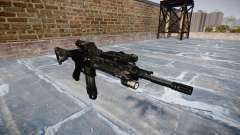 Automatic rifle Colt M4A1 kryptek tifón para GTA 4