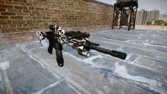 Automatic rifle Colt M4A1 siberia para GTA 4