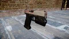 Pistola Glock 20 cereza blososm