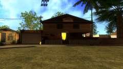 Nuevas texturas en HD casas en grove street v2