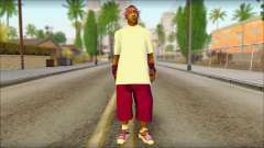 East Side Ballas Skin 1 para GTA San Andreas