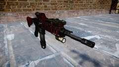 Automatic rifle Colt M4A1 arte de la guerra para GTA 4