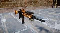 Automatic rifle Colt M4A1 de élite para GTA 4