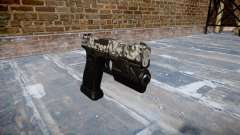 Pistola Glock 20 de diamante