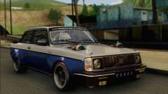 Volvo 242 V6 Twin Turbo 1983 - Stock para GTA San Andreas