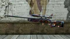Graffiti Sniper Rifle para GTA San Andreas