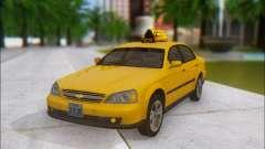 Chevrolet Evanda Taxi para GTA San Andreas