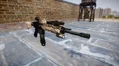 Automatic rifle Colt M4A1 viper para GTA 4