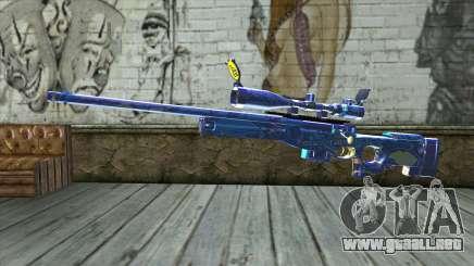 Graffiti Sniper Rifle v2 para GTA San Andreas