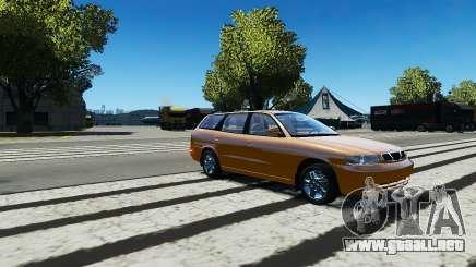 Daewoo Nubira I Wagon CDX US 1999 para GTA 4