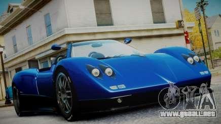 Pagani Zonda S (C12S) Roadster 2011 para GTA 4