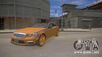 Mercedes-Benz E63 AMG для GTA 4 para GTA 4