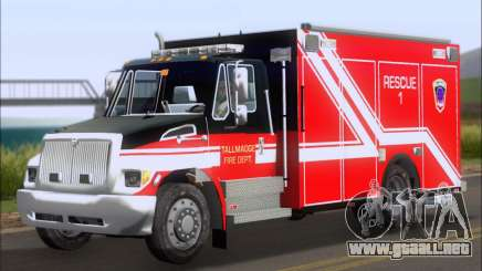 Pierce Commercial TFD Rescue 1 para GTA San Andreas